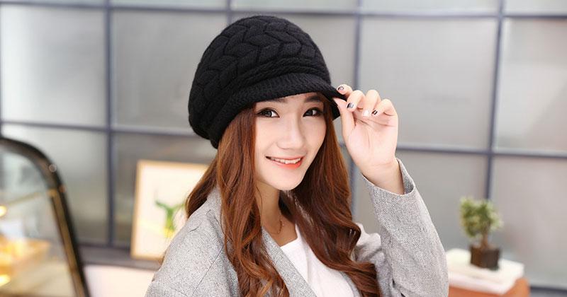 หมวกดีไซน์น่ารักจนสาวหวานต้องซื้อติดตัว