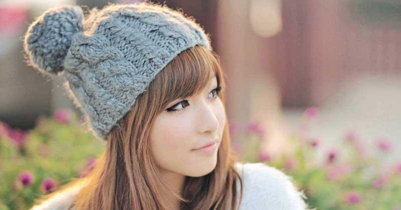 หมวกไหมพรมสำหรับสาวชอบมัดแกละ