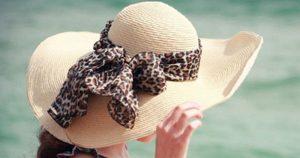 Hat weave-