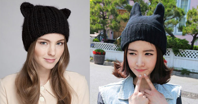 Knitted hat_