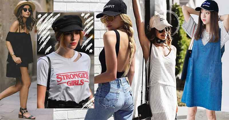 5 หมวกหลายทรงน่ารักจนสาวหวานต้องกด LIKE